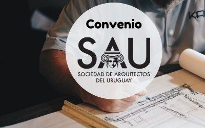 Convenio SAU  Software – Sociedad de Arquitectos del Uruguay