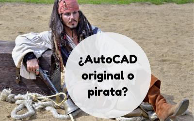 ¿Usas AutoCad original o pirata?