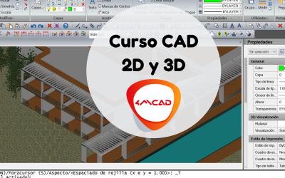 Curso CAD 2D y 3D con 4MCAD