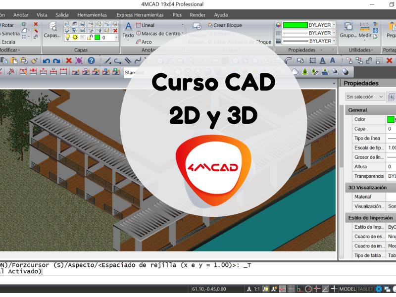 Curso CAD 2D y 3D