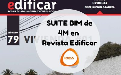 Revista Edificar publica un análisis de la Suite BIM de 4M