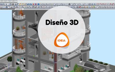 Diseño de arquitectura BIM 3D en IDEA Architecture
