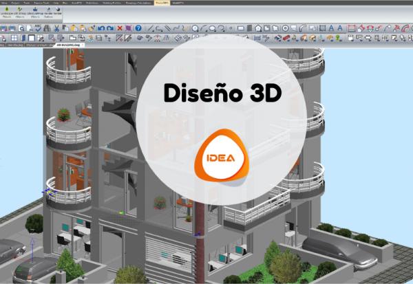 Diseño 3D IDEA Architecture BIM Building information modelling