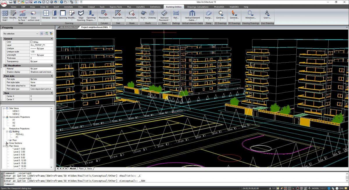 Interfaz de cinta de IDEA Arquitectura 19