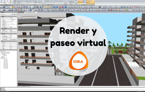 render y paseo virtual